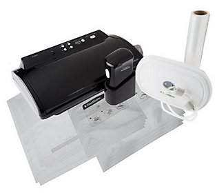 FoodSaver Vacuum Sealing System with FreshSaver Handheld Sealer from FoodSaver