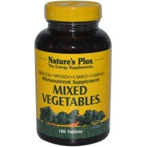 Nature's Plus - Mixed Vegetables, 180 tablets (Mixed Vegetables compare prices)