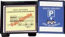 Lampa-65343-Porta-Assicurazione-con-Disco-Orario