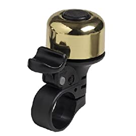 Mirrycle Incredibell Brass Solo Bicycle Bell