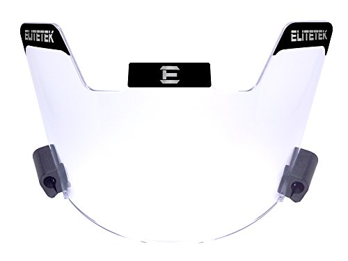 EliteTek Football Eye-shield Visor (Clear) (Uv Protective Face Shield compare prices)