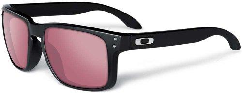 Oakley Holbrook Polished Black G30 Black Iridium Sunglasses