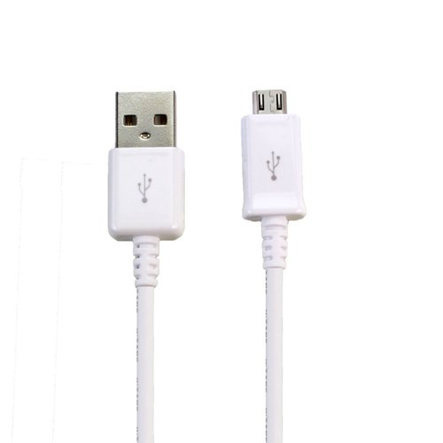 Full Power Sony Sbh50 Bluetooth Headset Charging Micro-Usb Data Cable'S Dual Chipset Can Charge Up To 4.2A/4200Mah Speeds! (White)