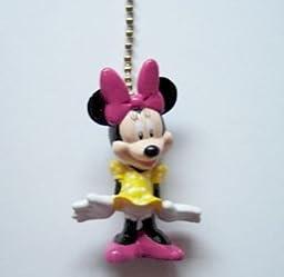 Disney Minnie Mouse Figure Ceiling Fan Light Lamp Pull Chain