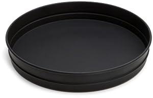 Hillside 12 Inch Black Steel Pizza Pan