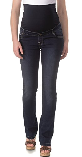 Umstandsmode bellybutton Jeans Maya straight leg (Gerades Bein) , 34, stone wash