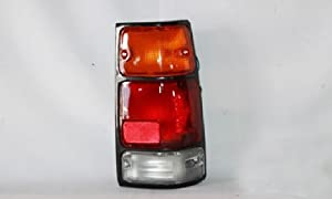 89-94 ISUZU AMIGO/88-95 PUP/91-97 RODEO (BLACK) TAIL LIGHT SET