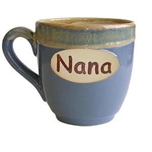 Amazon.com | Tumbleweed 'Nana' Ceramic Coffee Grandparent Mug-Assorted