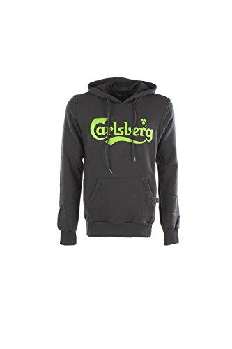 Felpa Uomo Carlsberg Xl Grigio Cbu2302 Autunno Inverno 2016/17