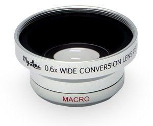 【Full HDカメラ対応】 ビデオカメラ用 広角0.6倍 コンバージョンレンズ【25~37mm】