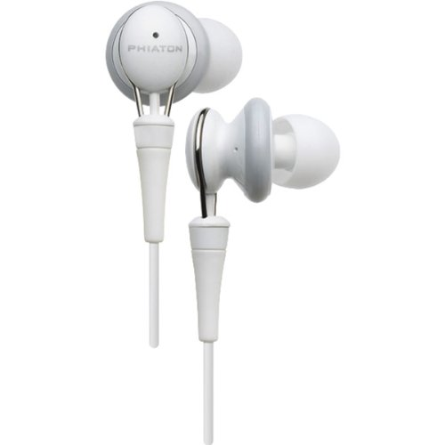 Phiaton Ps 20 Half In-Ear Premium Earphone (Glossy White)