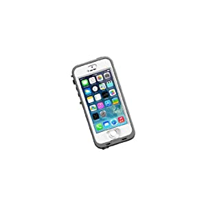 Lifeproof nuud Series Case for iPhone 5S - Retail Packaging - White Clear by LifeProof