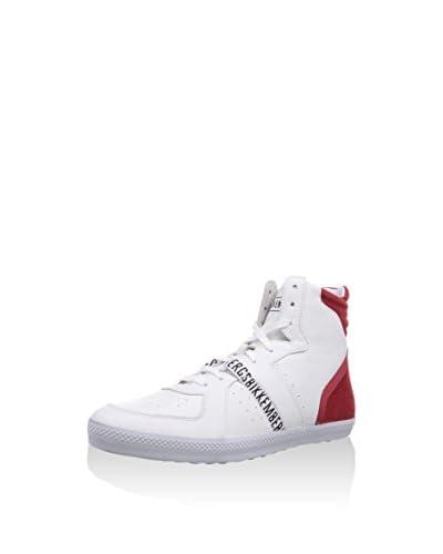 Bikkembergs Sneaker Alta [Bianco/Rosso]