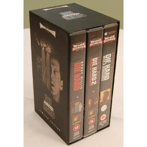 Die Hard Trilogy Vhs Bruce Willis Bonnie Bedelia Alan