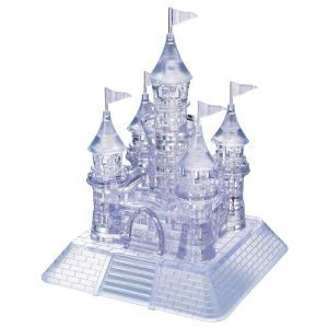 3D Crystal Puzzle - Castle: 104 Pcs