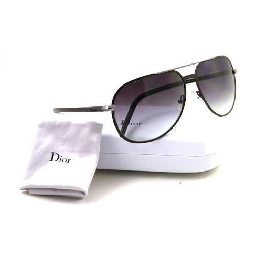 Glasses Metal Frame Dior : Amazon.com: Dior Homme Dior 0126 Matt Brown Frame/Grey To ...