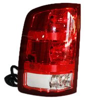 TYC 11-6224-00 GMC Sierra Driver Side Replacement Tail Light Assembly