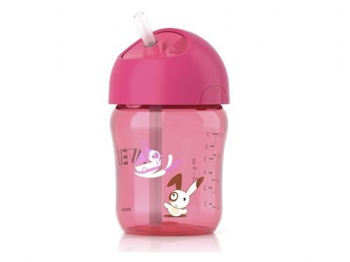Avent-Cup-with-Straw-260ml-12-Months-Colour-Pink