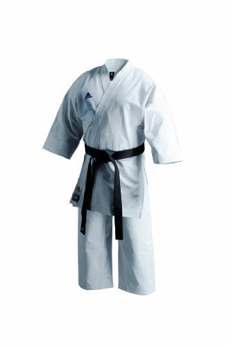 Adidas K460J Unisex Karate Uniform - White, 4/170 Cm