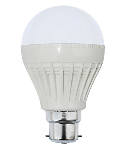 3W Bright White B22 LED Bulb (Set of 8)