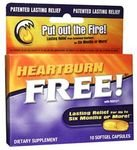 Enzymatic Therapy Heartburn Free, 10 Caps, 1000 Mg