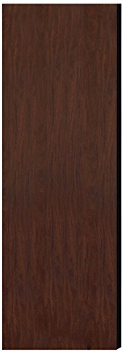 Salsbury Industries 22245Mah Double End Side Panel For 21-Inch Deep Extra Wide Designer Wood Locker Without Sloping Hood, Mahogany Brown front-499109