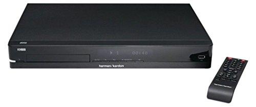 Harman/Kardon HD 3700 Hi-Fi CD-Player mit Digital-Analog-Wandler und CD/CD-R/CD-RW sowie USB (MP3/WMA Dateien) Eingang Inkl. Fernbedienung - Schwarz