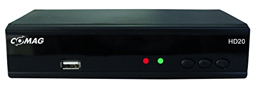 Comag HD20 HDTV Satelliten Receiver (HDMI 1080p, SCART, USB 2.0, PVR Ready) schwarz