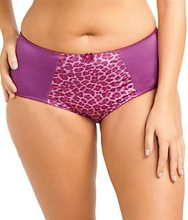 Goddess Women'S Kayla Brief Panty, Magenta, X-Large/16