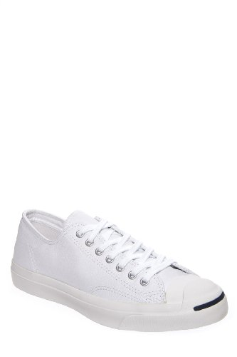 Converse Unisex-Adult Jack Purcell Leather White Leather Fashion-Sneakers 9 Uk 10 M Us