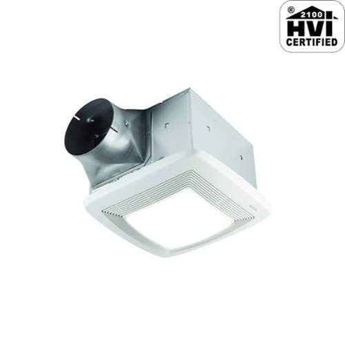 Broan XB80L Ultra X1 Single-Speed Series Ventilation Fan with 36-Watt Fluorescent Bulb and 4-Watt Night Bulb (Nutone Ultra Green compare prices)