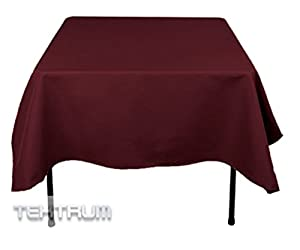 Burgundy Tablecloth Car Interior Design