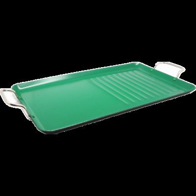 Wee's Beyond 6338 Wee Healthy Ceramic Double Griddle, 18