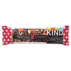 * Plus Nutrition Boost Bar, Dark Chocolate/Cherry/Cashew, 1.4 Oz, 12/Box *