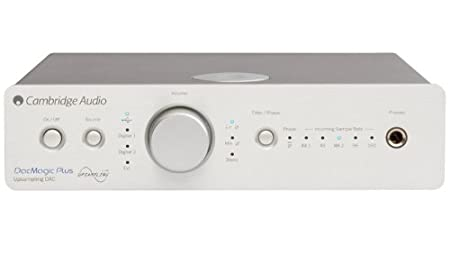 Cambridge Audio DacMagic Plus [Silver] ケンブリッジオーディオ USB入力対応 D/Aコンバーター