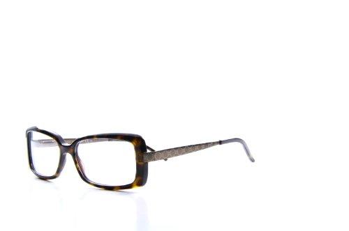 1e3003f884 Gucci Women s 3546 Dark Tortoise   Brown Frame Plastic Eyeglasses