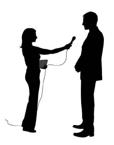 In Studio Wall Decals Interview - 18 Inches X 14 Inches - Peel And Stick Removable Graphic