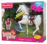 Fisher Price Loving Family Sugar English Horse (Fisher Price Doll Horse compare prices)