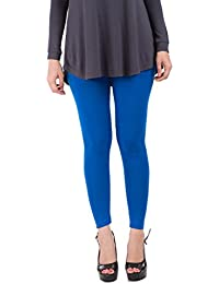 De Moza Ladies Ankle Length Leggings Solid Viscose Lycra