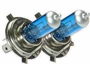 2 luci auto lampade h7 super bianche omologate per for Lampadine led per auto