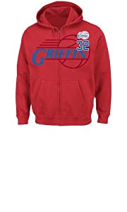 NBA Los Angeles Clippers Mens Blake Griffin 32 Deny the Ball Full Zip Hoodie by Majestic