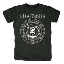 DIE ÄRZTE T-SHIRT TAKING CARE OF ROCK GR: M NEU