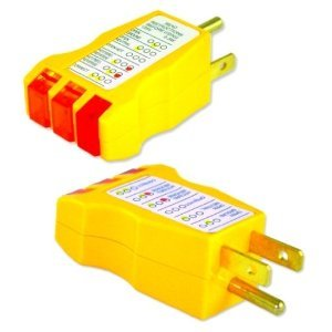 Electrical Outlet Circuit Safety Tester