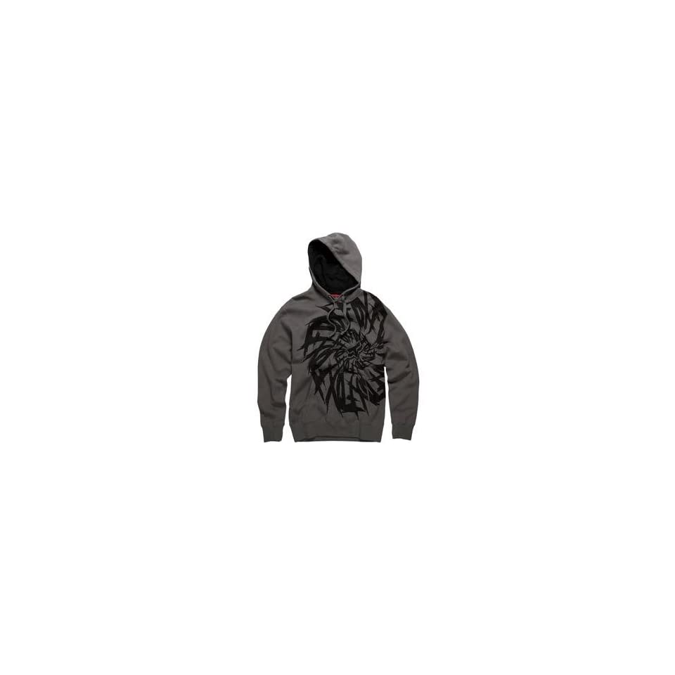 Fox Racing Dizzle Hoody   Large/Charcoal