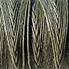Crawford Irish Linen Thread- Olive 3 Cord (10 yards)