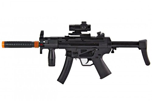 MP5 with Working Flashlight, Vibrations, Sounds, and Lights Toy Gun for Kids GREAT QUALITY
