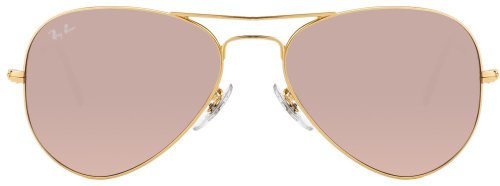 Ray-Ban Aviator Sunglasses (Brown Gradient) (RB3025 - 00153E - 55)