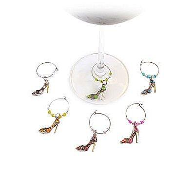 Bella Vita Bella Vita Stiletto Wine Charms