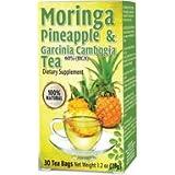 Moringa Pineapple Tea with Garcinia Gambogia 30 Tea Bags