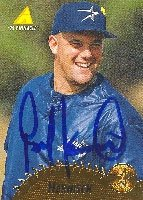 Pete Harnisch Houston Astros 1995 Pinnacle Autographed Hand Signed Trading Card. by Hall+of+Fame+Memorabilia